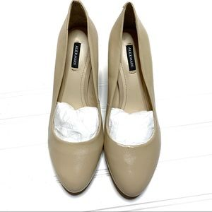 Alex Marie sz 7.5 nude pumps NEW w/defects